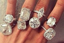 Diamonds / Engagement/Wedding Rings / by Police_Wife