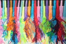 piano drawings
