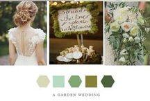 A Garden Wedding / Garden wedding inspiration