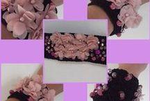 DIY -http://www.facebook.com/pages/Le-Creazioni-di-LALU/110421685715461 / creazioni artigianali  di accessori moda / by Lauraluna Ceccolini
