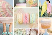 Time for Pastels / Pretty pastel wedding inspiration