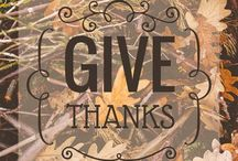 The ThankYou Board / What Are You Thankful For? / by David & Katsue Lukasiak