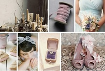 Lavender, Gray + Powder Blue / Lavender, gray and blue wedding inspiration