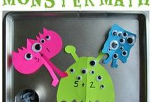 Monster unit / October / by Kristi Schultz