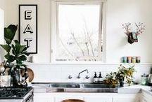 ktchn / #kitchen #cuisine #stove #oven #refrigerator #backsplash #sink
