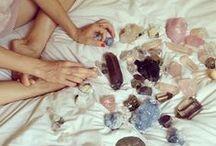 crystal method / #crystals #gems #stones #quartz #amethyst #tourmeline