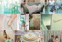 Vintage Mint & Ivory / Mint Wedding Inspiration