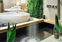 Bathrooms I ❤️ / Bathrooms, outdoor showers, modern design for the bathroom.  / by Rae Catanese   Tampa Real Estate
