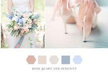 Pantone Colors of the Year: Rose Quartz & Serenity
