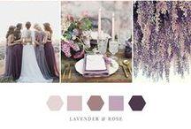 Shades of Lavender + Rose