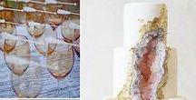 Mystical Crystal Wedding / Crystal, geode, gemstone wedding inspiration