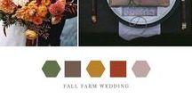 Fall Farm Wedding Inspiration / Fall wedding inspiration
