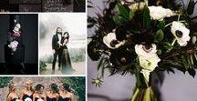 Black Magic / Black wedding ideas