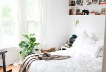 // Simple Bedroom / Natural, realistic, comfortable bedrooms with light, color, and gorgeous design.