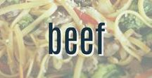 Beef Recipes / A collection of delicious beef recipes from steak to hamburger.  A great way to work some protein in to your meals.