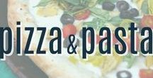 Pizza and Pasta Recipes / A collection of pizza recipes and pasta recipes that are perfect for dinner.