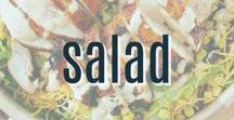 Salad Recipes / A collection of tasty salad recipes your family will love.  Perfect as a side dish or meal.