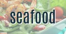Seafood Recipes / A collection of our favorite tasty Seafood recipes your family will love from shrimp to tilapia to salmon and other fish. Find all our yummy Pinterest Boards at https://www.pinterest.com/favfamilyrecipz/