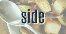 Side Dish Recipes / A collection of our favorite side dish recipes that are perfect to pair with dinner.  Including lots of great ideas for cooked veggies and potatoes.