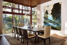 decor : dining room / mangia / by Susan Adkins
