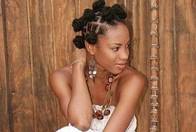 Beautiful, Natural Hair  / Lovely, natural locs / by Evelyn Bourne