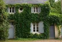 cottages /  little rustic places that intrigue me