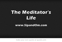 The Meditator's Life / Want fast + easy ways to center yourself? Join me to sip tea, meditate and live simply. Receive my FREE video series to Banish Overwhelm from the Most Stressful Times of Your Day at www.sipandom.com.