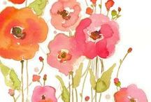 POPPIES / by Jacaranda Designs (Jane)