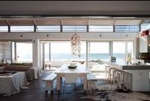 Kitchens to cook for! / We absolutely love these kitchens, whether they're in the bush or on the beach- they all inspire us to cook like the stars (and look good doing it)