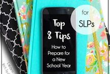 SLP: Tips and Tricks / Calling School SLPs! Find practical hints & ideas to help you overcome any Speechie obstacle no matter how daunting it may seem.