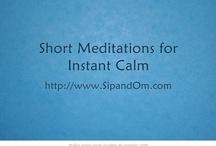Short Meditations for Instant Calm
