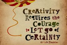 Ignite creativity / Pictures and resources for helping the creativity flow through words, music, art...