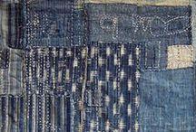 Textiles: Boro, Sashiko, Japanese / by Kit White