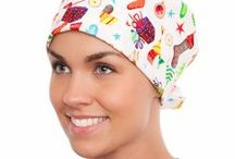 Scrub hats / Available in Pony, Pixie, Poppy and for men. / by blue sky scrubs