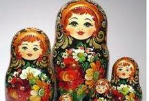 Matyroshka dolls / I collect these
