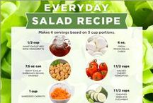Lettuce Talk About Salads! / Just in time for summer, here are some unique salad and dressing recipes for you and your family to enjoy!
