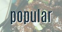 Popular Recipes / A collection of the best pins that inspire us from DIY to cooking, crafts, decorating, and fashion.