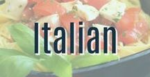 Italian Recipes / A collection of our favorite tasty Italian recipes!  From Pizza to Pasta to all types of recipes inspired by Italy.