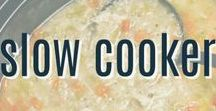 Slow Cooker Recipes / A collection of slow cooker and crock pot recipes that you can slow cook while you go about your day.  Then have dinner ready to go at night!