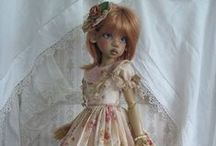 robe pour poupee ancienne / by Cecile Attia