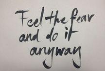 Words of Wisdom / Quotes & Good Feelings