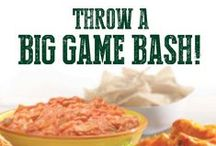 Big Game Bash! / Food ideas for your Big Game party!