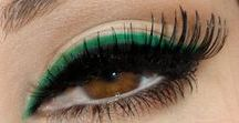 Easy Green Beauty Ideas for St. Patty's Day / Whether it's a green eye shadow, eye liner or nail polish, you can easily add a pop of green to your look to stay fun and festive!