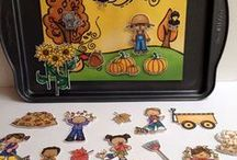 SLP: Fall Theme Activities / Fall / Autumn Themed Speech Therapy Activities. Worksheets, materials, free, printable, games and ideas for Speech Language Pathology in Schools.