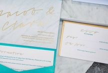 Marble: Wedding Stationery / Marble Wedding Stationery, Invitations, Inspiration, Save the Date, Modern, Theme, Gold