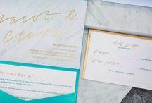 Stationery: Marble / Marble Wedding Stationery & Invitations
