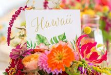 Stationery: Tropicana / A vibrant tropicana invitation , featuring exotic blooms and a fabulous flamingo.