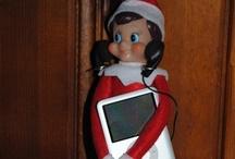Christmas Elf / #Christmas, #Elf, #Elf on the Shelf, #Elf on a shelf, #tradition, #kids, #Children, #family / by Emily Vandall