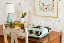 bookish / All the cool things I like -- typewriters, pens, book art, etc.
