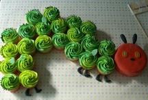 Birthday - Very Hungry Caterpillar / #Birthday, #Party, #1st Birthday, #Eric Carle, #Caterpillar, #Very Hungry Caterpillar / by Emily Vandall